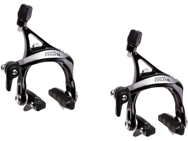 SRAM Rival 22 Kit de freins sur jante roue arrière + roue avant, black